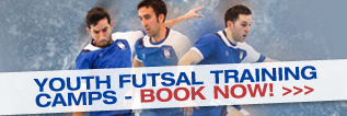Youth Futsal Training Camps - Book Now!